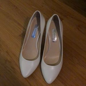 Pristine White Pumps NWOB Size 7